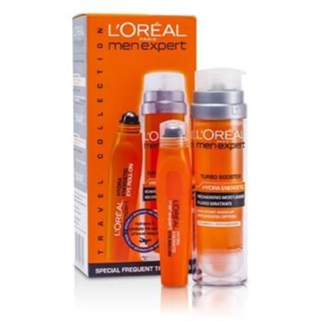 L'Oreal Men Expert Set: Hydra Energetic Turbo Booster + Ice Cool Eye Roll-On 2pcs Men's Skincare