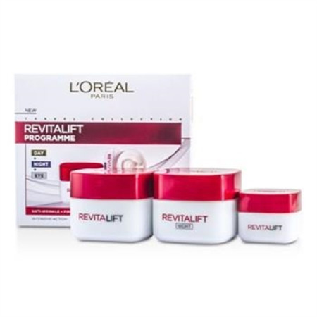 L'Oreal Revital Lift Programme: Day Cream + Eye Cream + Night Cream 3pcs Skincare