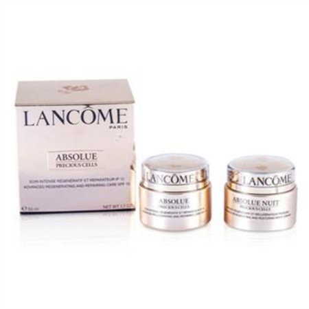 Lancome Absolue Precious Cells Coffret: Absolue SPF 15 50ml & 15ml + Night Care 15ml + Eye Concentrate 5ml + Oleo-Serum 5ml 5pcs Skincare