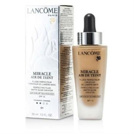 Lancome Miracle Air De Teint Perfecting Fluid SPF 15 - # 01 Beige Albatre 30ml/1oz Make Up