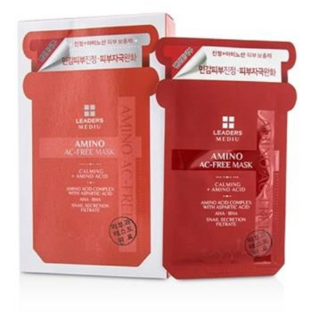 Leaders Mediu Amino Mask - AC-Free - Oily Skin Types 10x25ml/0.85oz Skincare