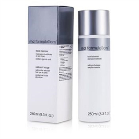 MD Formulations Facial Cleanser Cleanse & Exfoliates (Contains Gliycolic Acid) 250ml/8.3oz Skincare