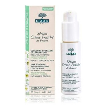 Nuxe Creme Fraiche De Beaute Serum 24HR Soothing And Moisturizing Concentrate For All Sensitive Skins 30ml/1oz Skincare