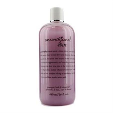 Philosophy Unconditional Love Shampoo, Bath & Shower Gel 480ml/16oz Ladies Fragrance