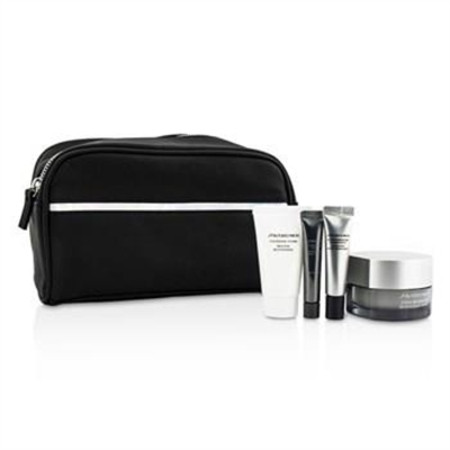 Shiseido Men Set: Men Total Revitalizer 50ml + Men Total Revitalizer Eye 5ml + Men Cleansing Foam 30ml + Men Concentrate 7ml + Bag 4pcs+1bag Men's Skincare