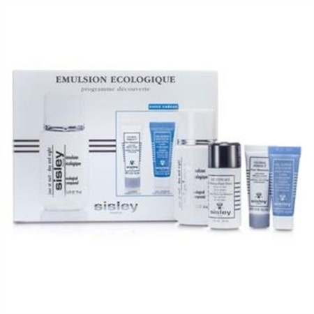 Sisley Ecological Compound Discovery Kit:Ecological Compound Day & Night 50ml, Global Perfect 10ml, Express Flower Gel 10ml... 4pcs Skincare