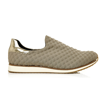 Moda in Pelle Aleo Taupe Low Leisure Shoes