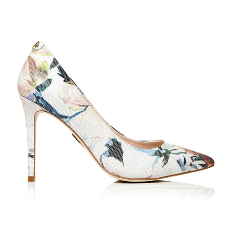 Moda in Pelle Cappi Floral High Smart Shoes
