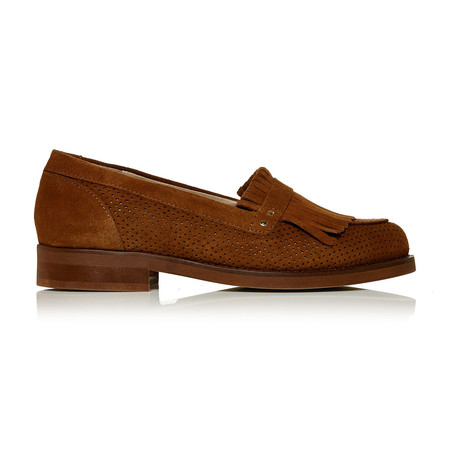 Moda in Pelle Efisio Tan Low Casual Shoes