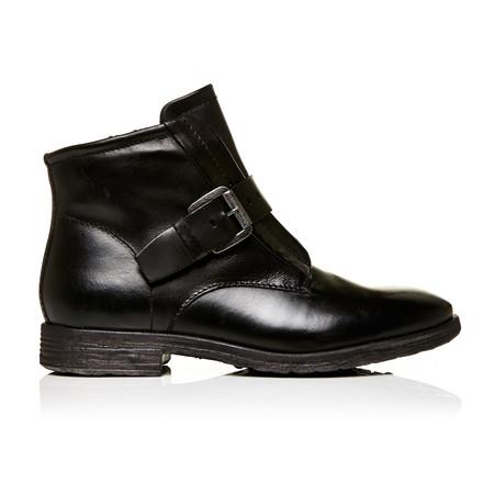 Moda in Pelle Unbeaten Black Low Casual Short Boots