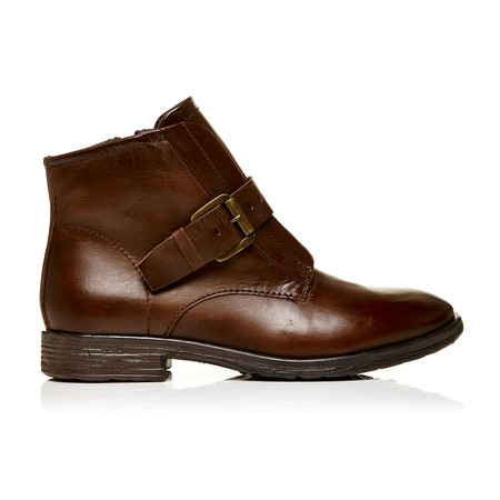 Moda in Pelle Unbeaten Brown Low Casual Short Boots