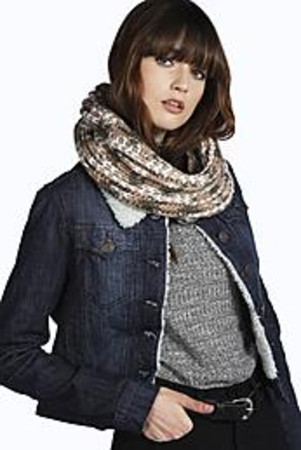 Knitted Snood beige