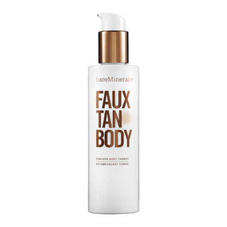 Bare Minerals Faux Tan Body Sunless Body Tanner Pump & Brush