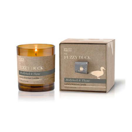 Baylis & Harding Fuzzy Duck Hollyhock & Thyme Candle 200g