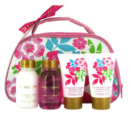 Baylis & Harding Tropical Orchid and Raspberry Gift Set