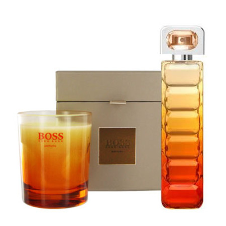 Boss Orange Sunset Eau de Toilette Spray 75ml with Free Gift