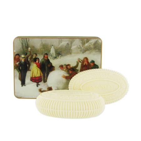 Bronnley Christmas Tin Collection 2 x 100g Medium
