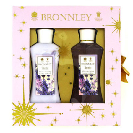 Bronnley Lavender Gift Set 2 x 100ml