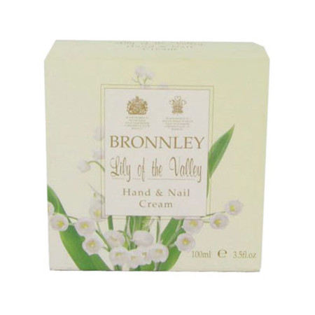 Bronnley Lily of the Valley Hand & Nail Cream 100ml