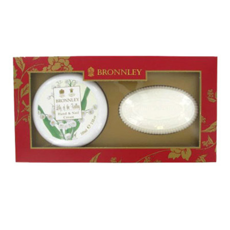 Bronnley Lily of the Valley Hand & Nail Gift Set