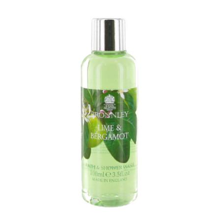 Bronnley Lime & Bergamot Shower Gel 100ml