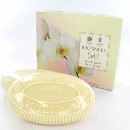 Bronnley Orchid Soaps 2 x 150g