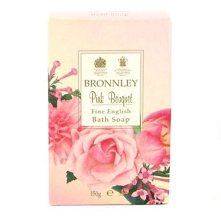 Bronnley Pink Bouquet Soap 150g