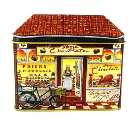 Bronnley Tin Shop Collection House Of Chocolate 3 x 100g