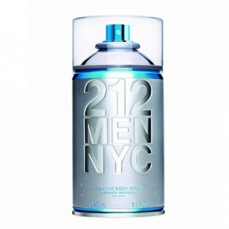 Carolina Herrera 212 Men Sensual Body Spray 250ml
