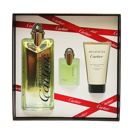 cartier declaration deodorant spray 985g  Cartier Declaration Gift Set 100ml