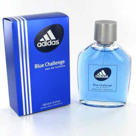 Coty Adidas Blue Challenge Eau de Toilette Spray 100ml