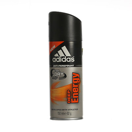Coty Adidas Deep Energy Anti Perspirant Body Spray 150ml