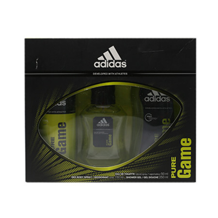 Coty Adidas Pure Game Gift Set 50ml