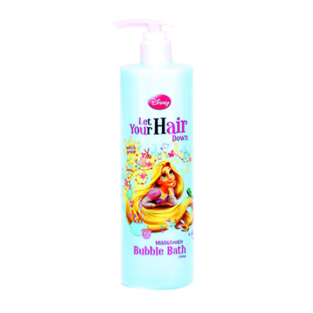 Disney Tangled Let Your Hair Down Bubble Bath 500ml