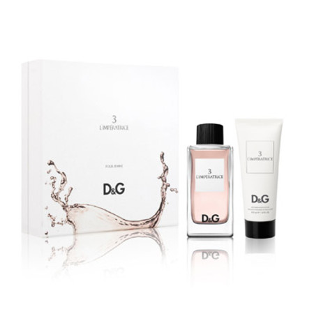 Dolce and Gabbana 3 L Imperatrice Gift Set 100ml