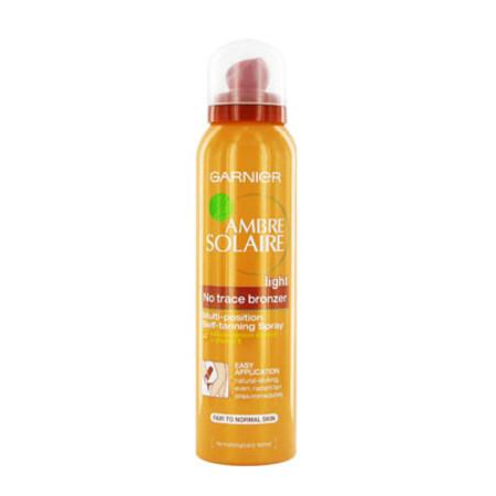 Garnier Ambre Solaire No Trace Bronzer Spray 125ml