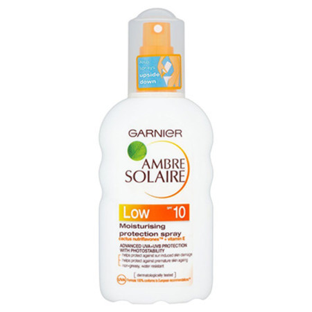 Garnier Ambre Solaire Protection Spray SPF10 200ml