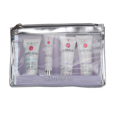 Gatineau 4 Piece Travel Kit For Face And Body
