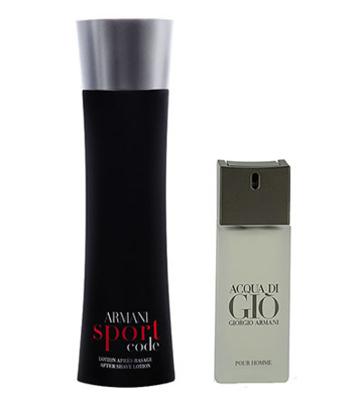 Giorgio Armani Code Sport EDT Spray 125ml With Free Gift