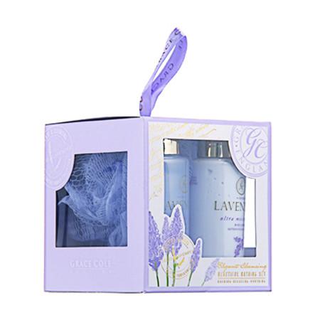 Grace Cole Elegant Cleansing Fresh Lavender Bathing Set