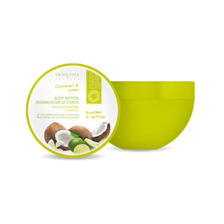 Grace Cole Fruit Works Coconut & Lime Body Butter 250ml