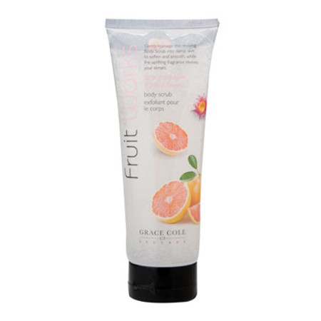 Grace Cole Fruit Works Pink Grapefruit & Lotus Body Scrub