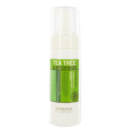 Grace Cole Tea Tree & Witchazel Foaming Facial Wash 150ml
