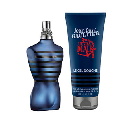 Jean Paul Gaultier Ultra Male EDT Spray 75ml With Free Gift