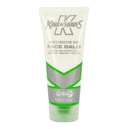 King of Shaves Mens Sensitive Skin Face Balm 75ml
