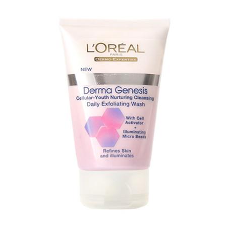 L'Oreal Derma Genesis Daily Exfoliating Wash 100ml