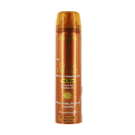 L'Oreal Glam Bronze Brunette For Face Light Tan 75ml