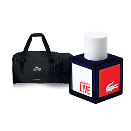 Lacoste Live Male Eau de Toilette Spray 40ml With Free Gift