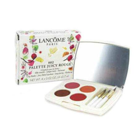 Lancome Palette Juicy Rouge Lip Glosses 4 x 0.7ml