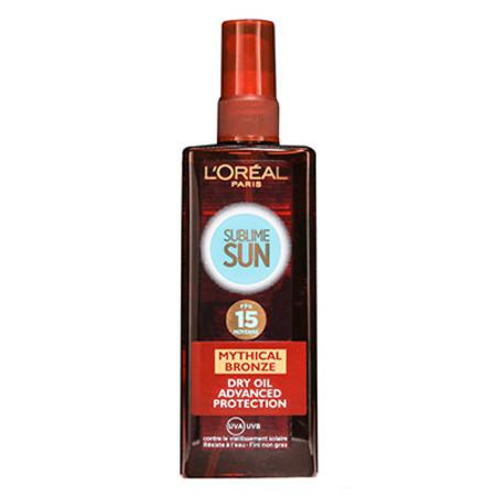 L'oreal Sublime Sun Perfect Bronze SPF 15 200ml